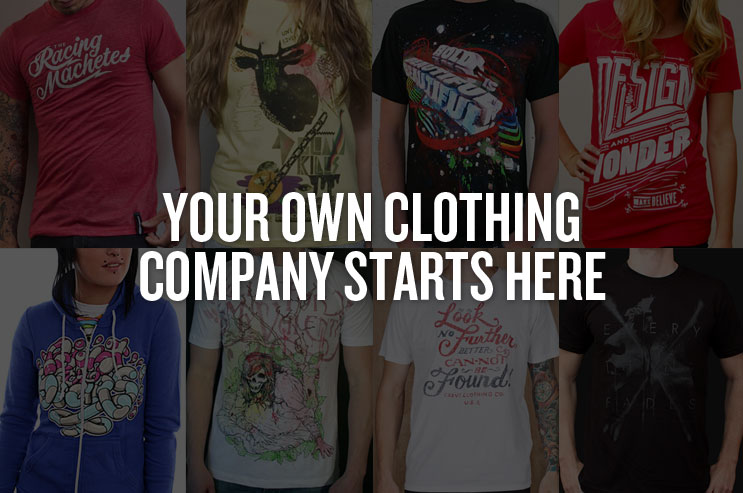 Your Clothing Companby Starts Here